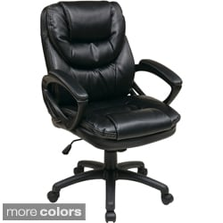 faux leather high back chairs. office star products \u0027work smart\u0027 faux leather high back chair chairs a