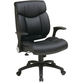 Office Star Products 'Work Smart' Faux Leather Seat and Back Manager's Chair