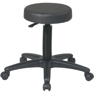 Office Star Products 'Work Smart' Backless Drafting Stool with Nylon Base