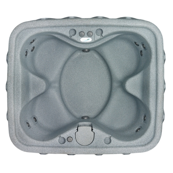 AquaRest AR-400 Silver 4-person Spa with 11 Jets and Free Cover