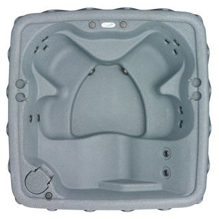 AquaRest AR-500 Silver 5 Person Spa with 13 Jets and Free Cover