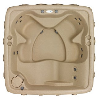 AquaRest AR-500 Sandstone 5 Person Spa with 13 Jets and Free Cover