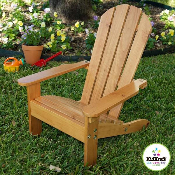 KidKraft Adirondack Chair Honey