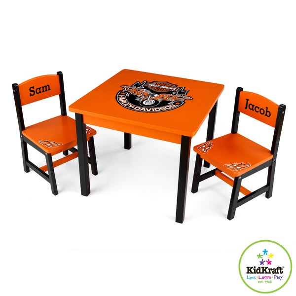 Kidkraft Harley Davidson Table And 2 Chair Set Free Shipping Today 7986569