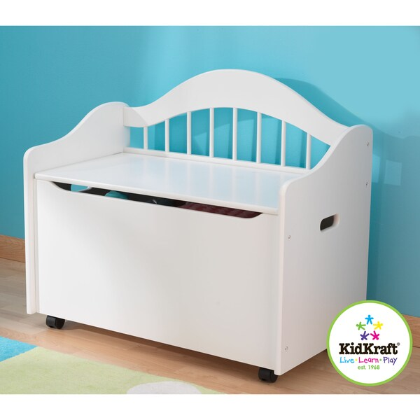 KidKraft Limited Edition White Toy Box