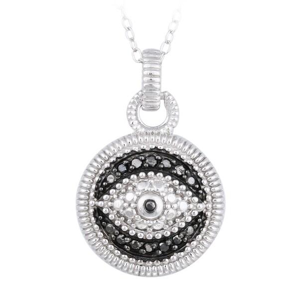 shop db designs sterling silver 1 10ct tdw black diamond. Black Bedroom Furniture Sets. Home Design Ideas