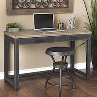 Stones & Stripes Heritage Weathered Rubberwood and MDF Writing Desk