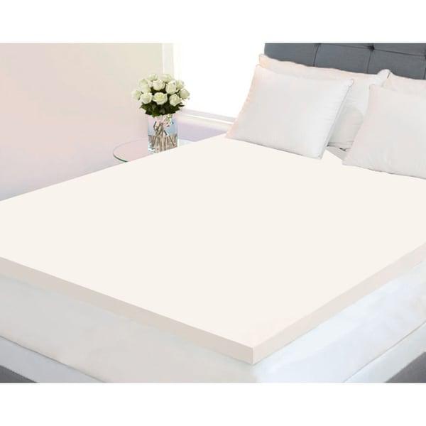 Dream Form Plus 2-inch 5-pound High Density Memory Foam Mattress Topper