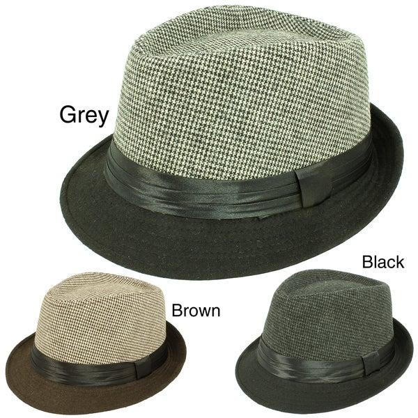 Faddism Unisex Fashion Fedora Hat