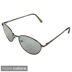 Apopo Eyewear Men's Retro Oval Sunglasses