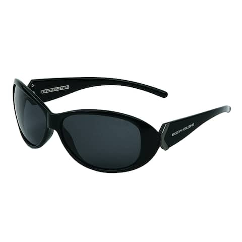3b6332a7c5105 Body Glove Women s  Myrtle Beach  Shiny Black Frame Polarized Sunglasses
