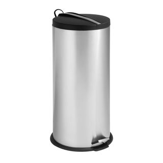 Honey-Can-Do 30-Liter Round Step Can with Bucket
