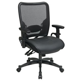 Office Star Products Space 68 Series Breathable Dark Air Grid Chair