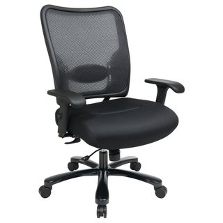 Office Star Products Double Air Grid Big U0026 Tall Back Ergonomic Chair