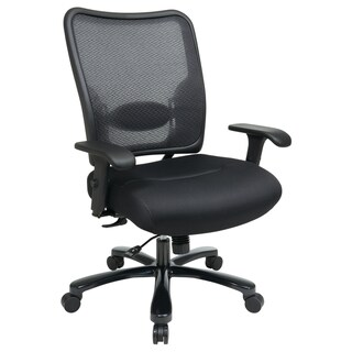 Office Star Products Double Air Grid Big & Tall Back Ergonomic Chair