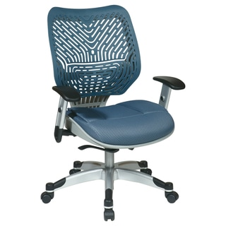 Office Star Products Space 86 Revv Series Blue Mist Chair