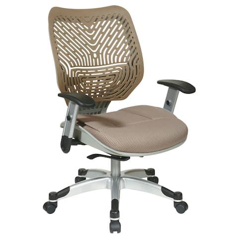 Unique Self Adjusting Latte SpaceFlex? Back Office Chair