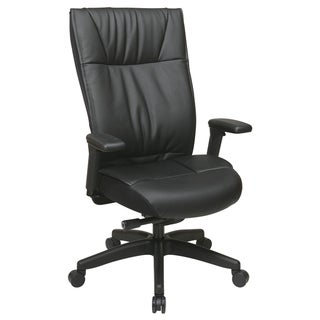 Office Star Products Space 937 Series Executive Leather Chair