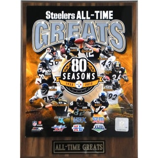 Pittsburgh Steelers 'All Time Greats' Plaque