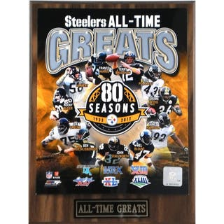 Pittsburgh Steelers 'All Time Greats' Plaque|https://ak1.ostkcdn.com/images/products/7987038/7987038/Pittsburgh-Steelers-All-Time-Greats-Plaque-P15354934.jpg?impolicy=medium