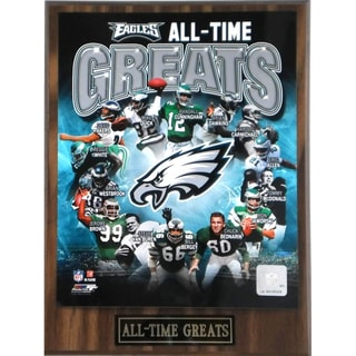 Philadelphia Eagles 'All Time Greats' Plaque