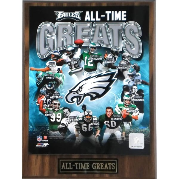 Shop Philadelphia Eagles 'All Time Greats' Plaque - Free ...
