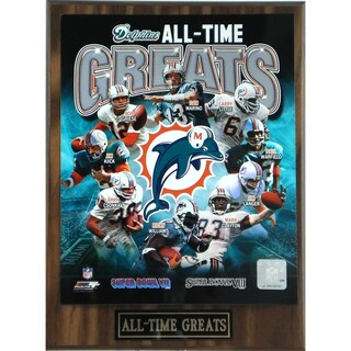 Miami Dolphins 'All Time Greats' Plaque