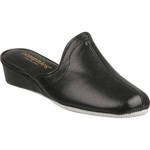 Women's Oomphies Granada Black Leather