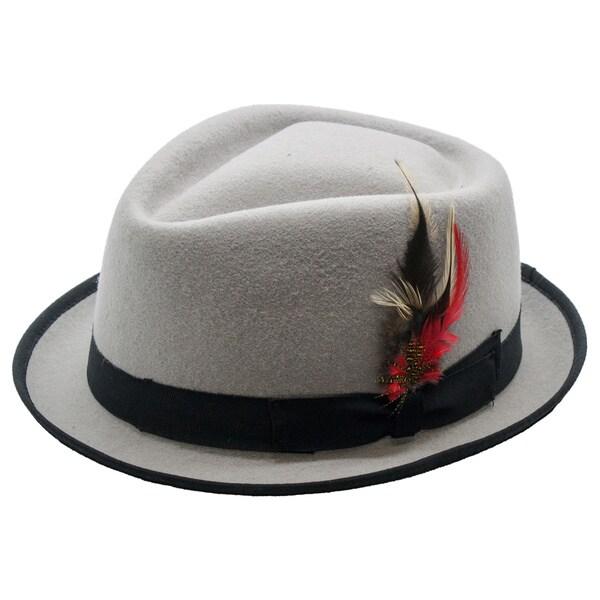 Ferrecci Premium Unisex Detroit Fedora Hat