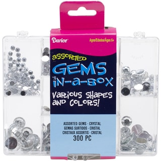 Gems In A Box 300/Pkg-Crystal