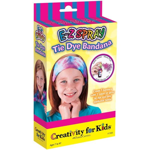 Shop Creativity For Kids Activity Kits-E-Z Spray Tie Dye Bandana ...