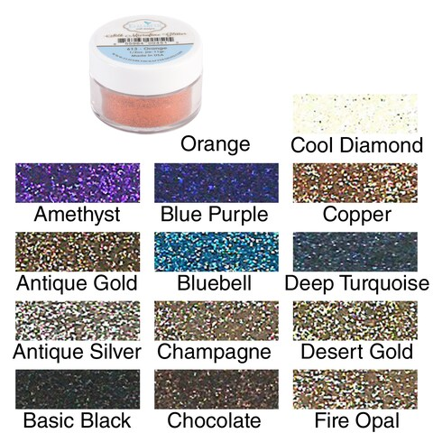Elizabeth Crafts Silk Microfine Glitter 11 Grams Jar