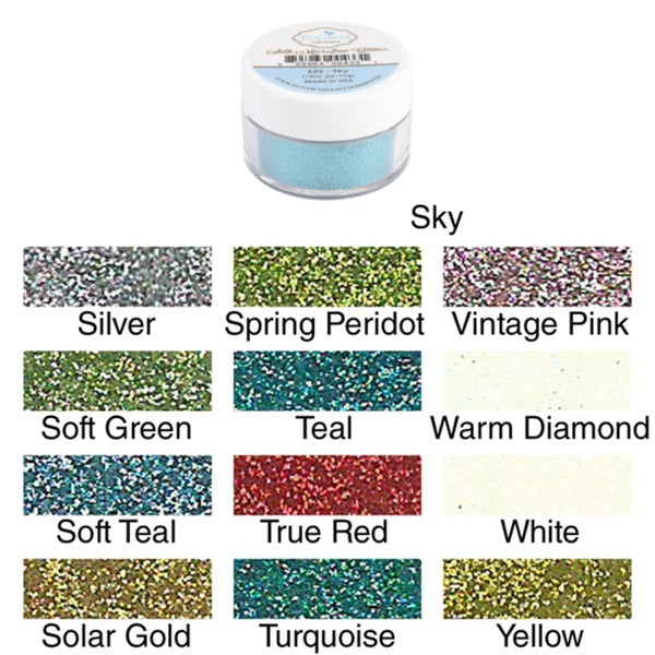 Shop Elizabeth Crafts Silk Microfine Glitter 11 Grams Free