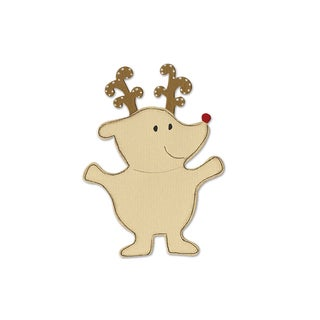 Sizzix Reindeer Animal Dress Ups Bigz Die