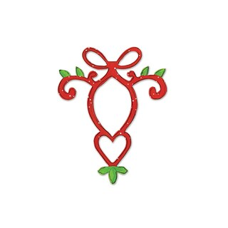 Sizzix Ornament with Heart by Dena Designs Originals Die