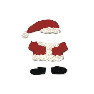 Sizzix Santa Outfit Animal Dress Ups Bigz Die