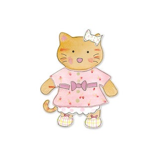 Sizzix Kitty Animal Dress Ups Bigz Die
