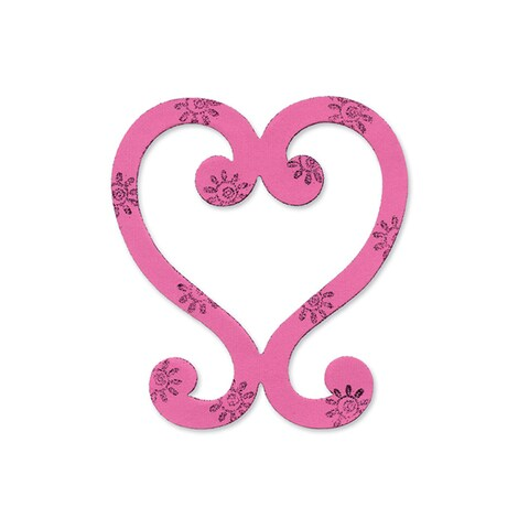 Sizzix Heart, Decorative by Emily Humble Bigz Die