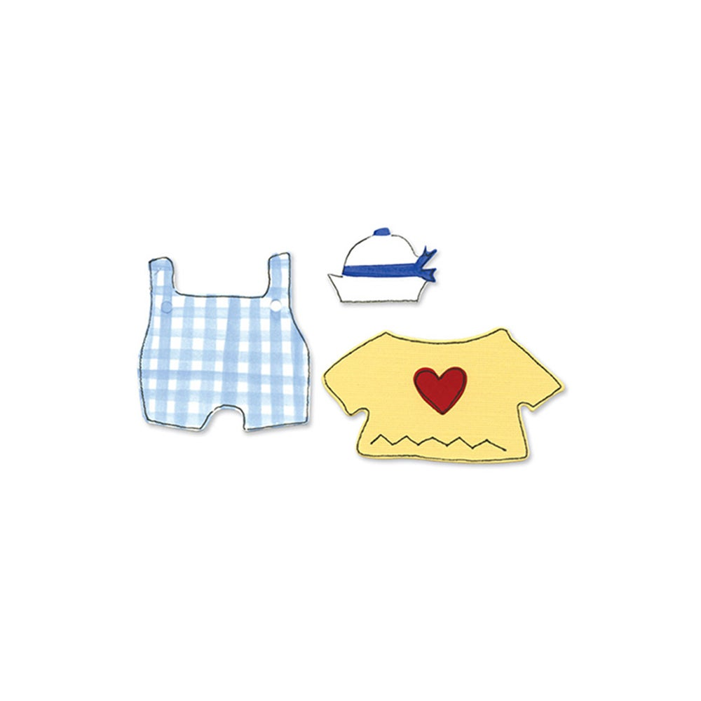 Sizzix Animal Dress Ups Sailor Outfit by Dene Designs Ori...