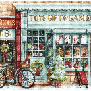 Gold Collection Petite Toy Shoppe Counted Cross Stitch Kit