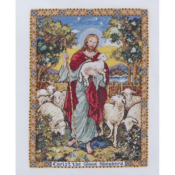 The Good Shepherd Counted Cross Stitch Kit