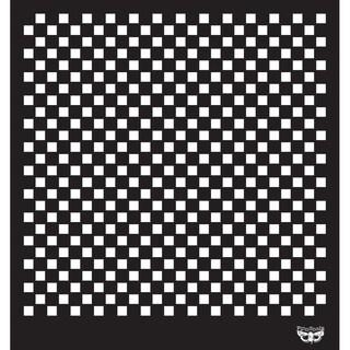 Sunrise Sunset Designer Stencil 12X12in-Checker