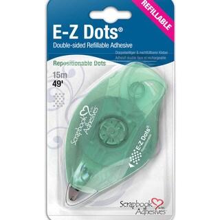 3L EZ Dots Refillable Dispenser W/Repositionable Adhesive 49ft-Repositionable