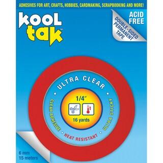 Kool Tak Ultra Clear Tape .25in X 16yds