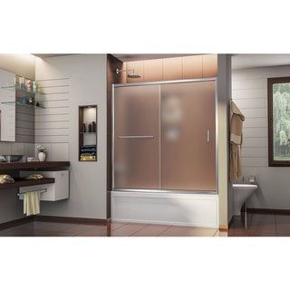 DreamLine Infinity-Z 56 to 60 in. Frameless Sliding Tub Door