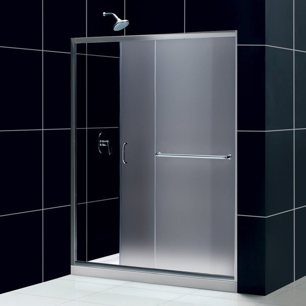 dreamline infinityz 56 to 60 in frameless sliding shower door