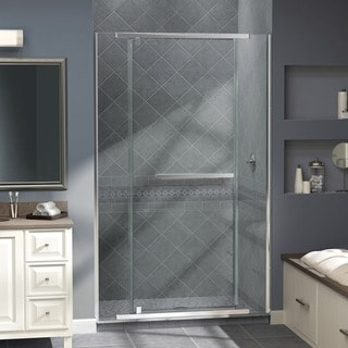 DreamLine Vitreo-X 58 to 58 3/4 in. Frameless Pivot Shower Door
