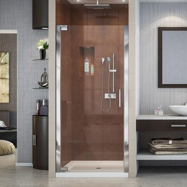 "DreamLine Elegance 28 3/4 - 30 3/4 in. W x 72 in. H Frameless Pivot Shower Door - 28.75"" - 30.75"" W"