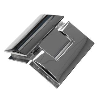 DreamLine Prism Lux 40.375 x 40.375-inch Frameless Hinged Shower Enclosure