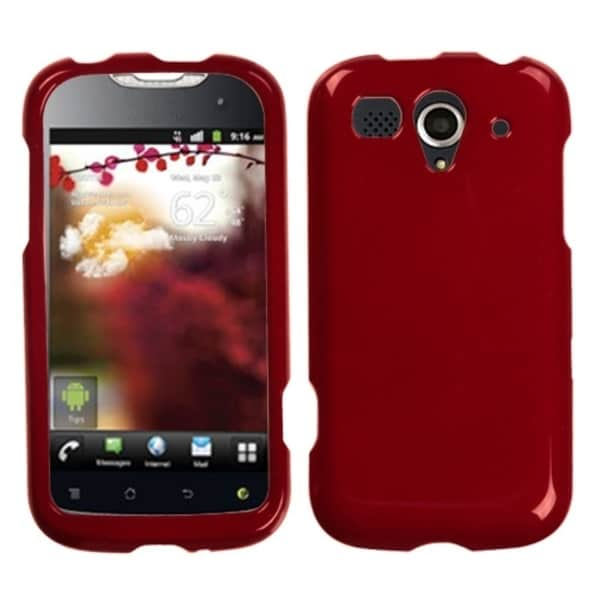 BasAcc Solid Red Phone Case for Huawei U8680 myTouch